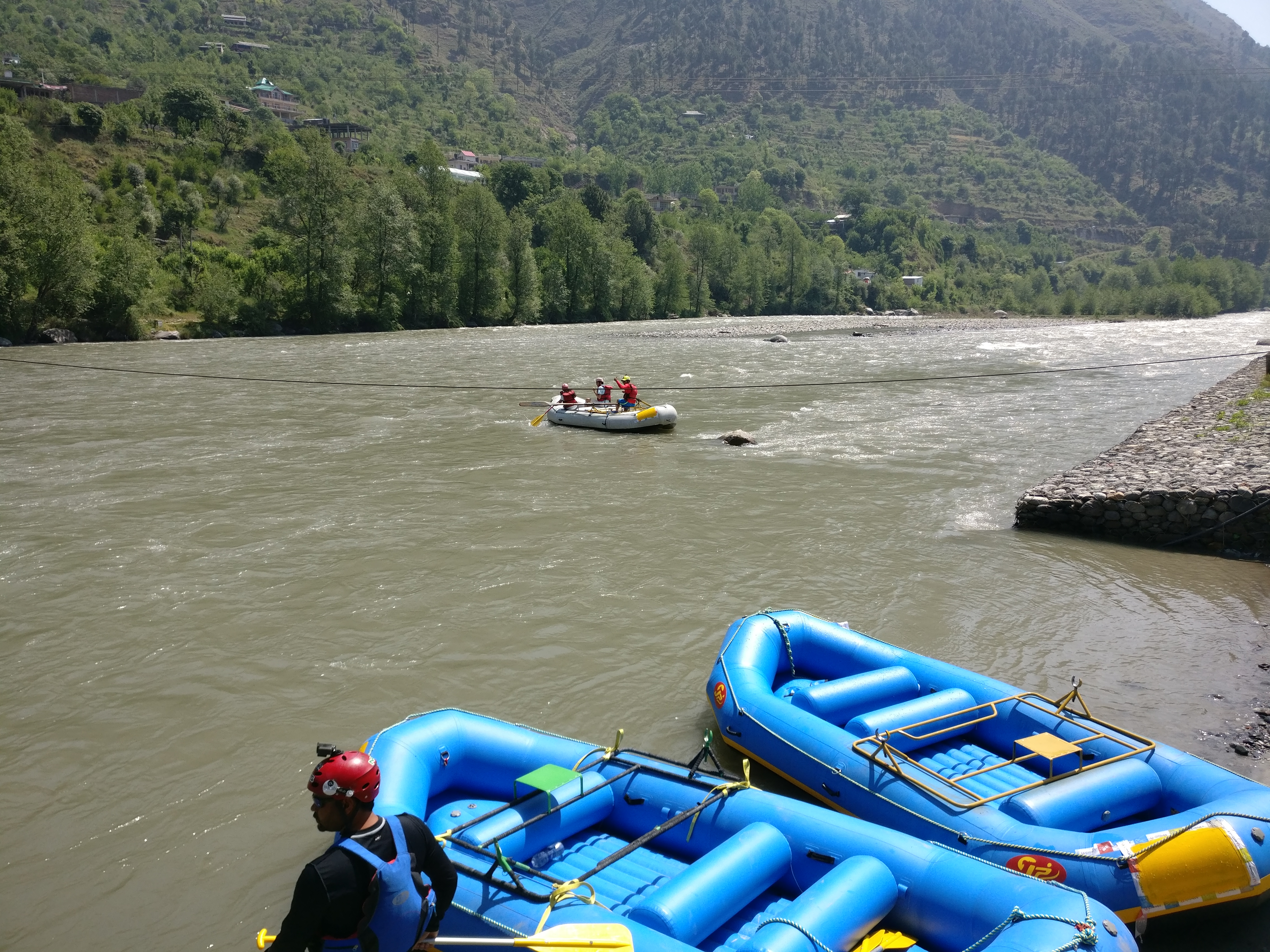 River Rafting in Kullu Manali