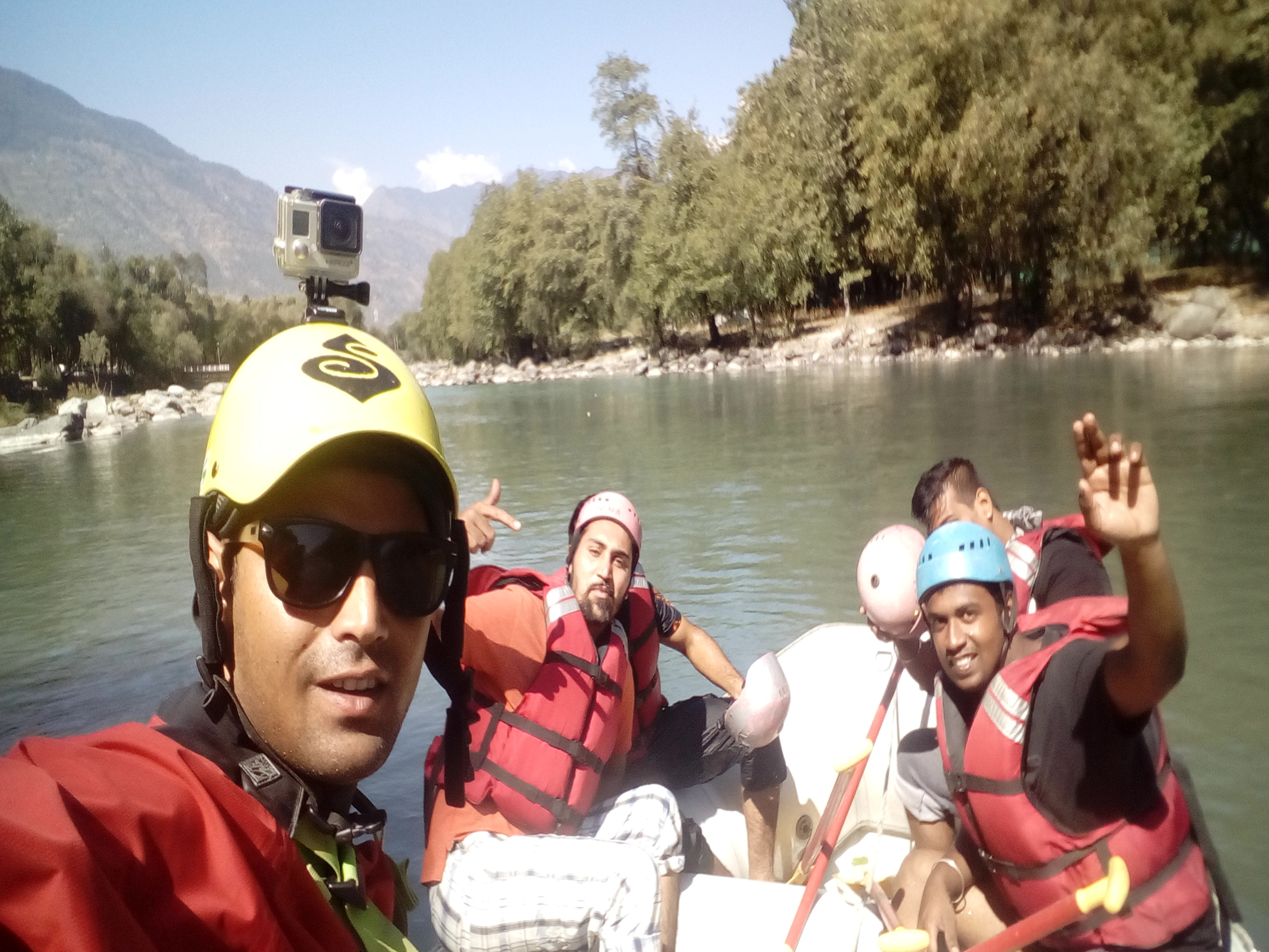Kullu River Rafting